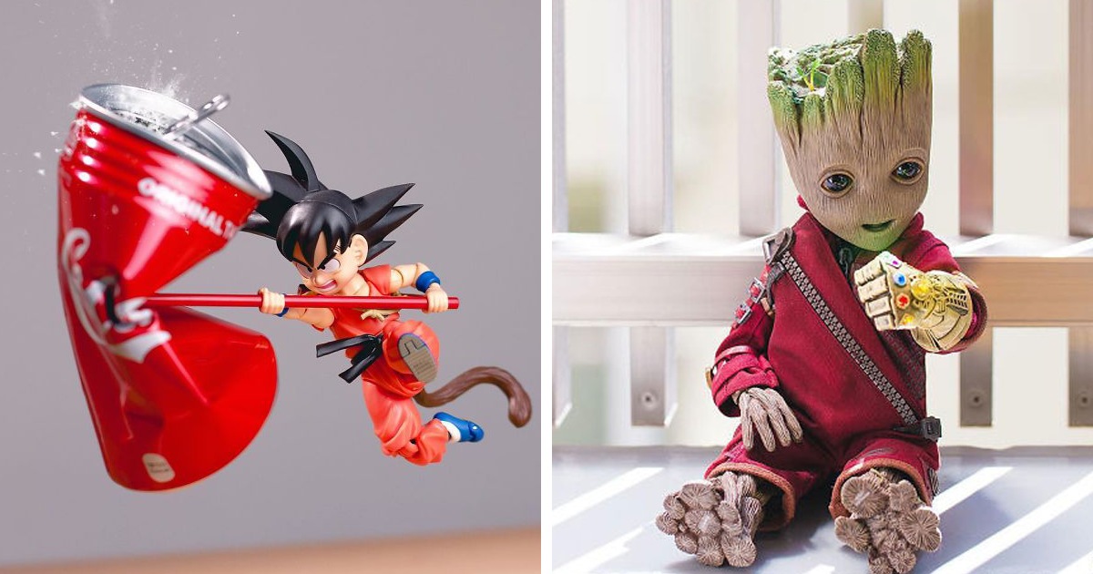 Japanese Photographer Brings Action Figures To Life In Impressive Shots (159 Pics)