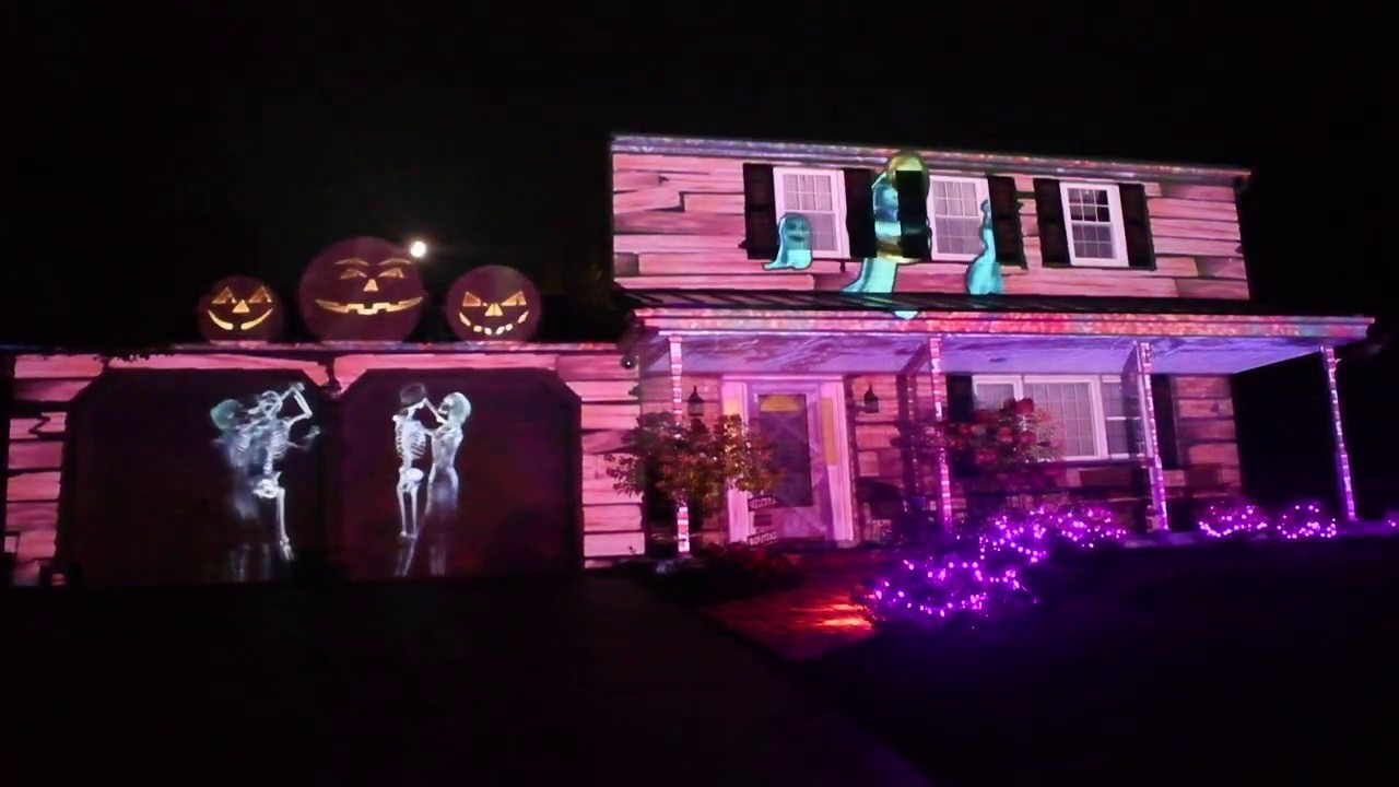 This Is My Halloween Display For This Year. In 6 Days I Found It Around The World.