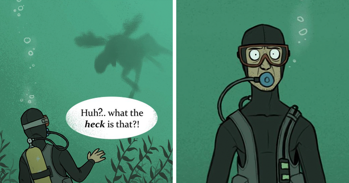 This Comic Strip Only Looks Funny Until You Learn This Could Actually Happen