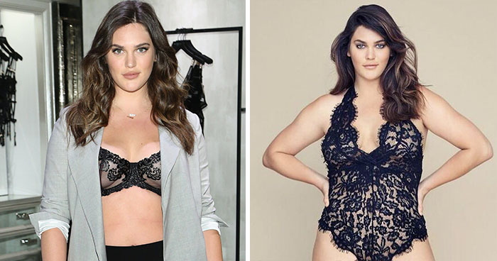 Victoria's Secret Features A Size-14 Model In Its Lingerie Campaign For The First Time
