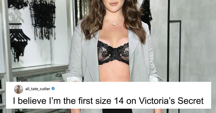 Victoria S Secret Features A Size 14 Model In Its Lingerie