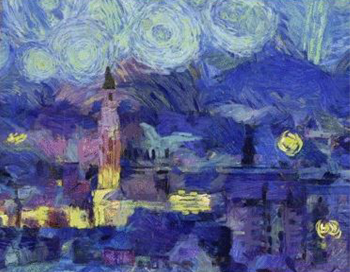 We Imagined What The World's 'Ugliest' Cities Would Look Like If They Were Painted By Famous Artists
