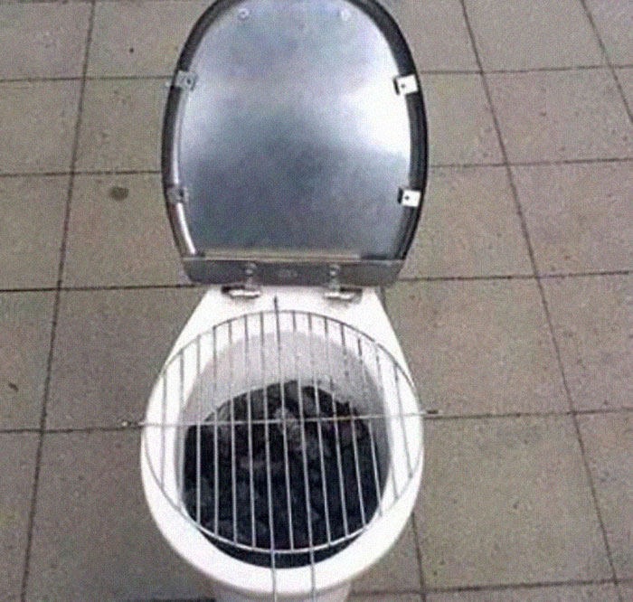 Another Repurposed Toilet
