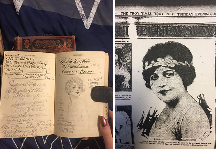 A Few Years Ago I Stumbled Upon A Young Woman's Personal Travel Journal From 1926 Belonging To Mrs.virginia H Mayfield, The Very First Female Judge In The State Of Alabama