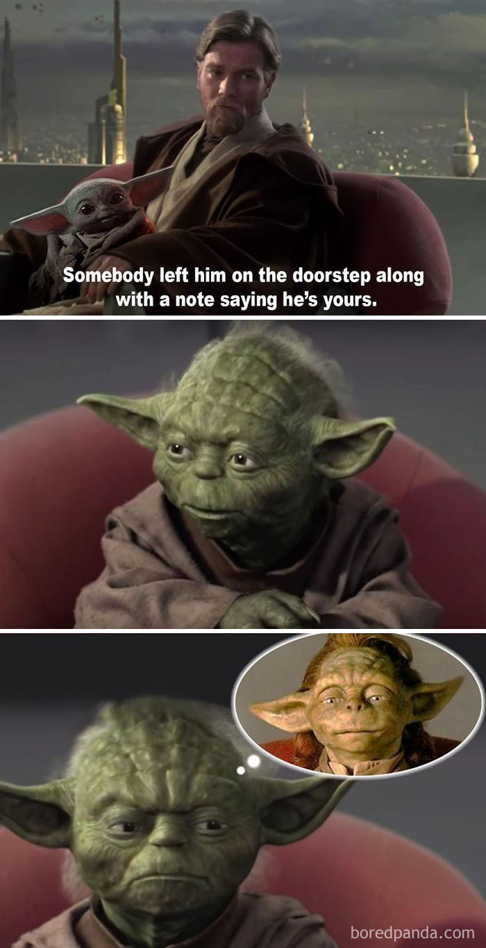 30 Baby Yoda Memes To Save You From The Dark Side Bored Panda