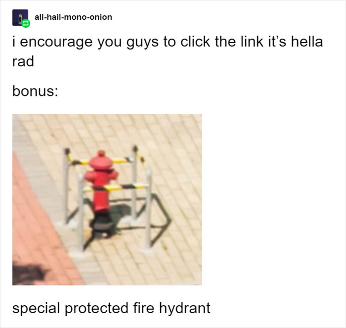 Special Protected Fire Hydrant