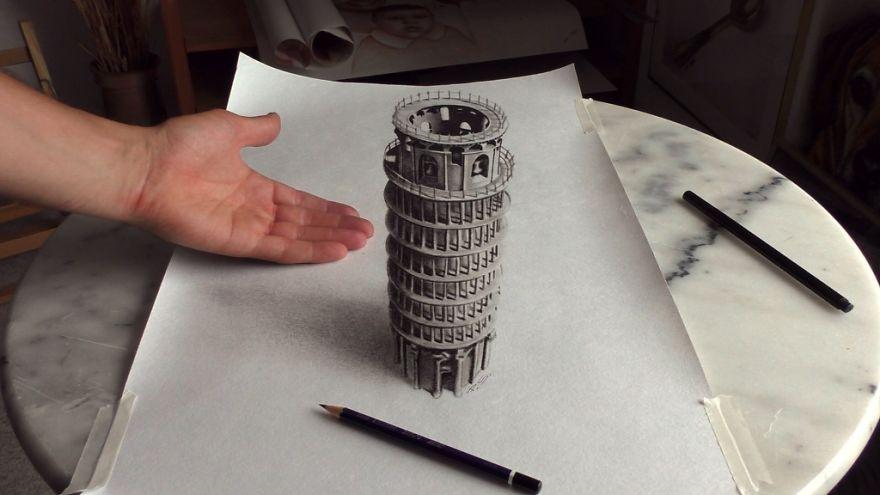 Встречайте невероятно реалистичные 3D рисунки Стефана Пабста