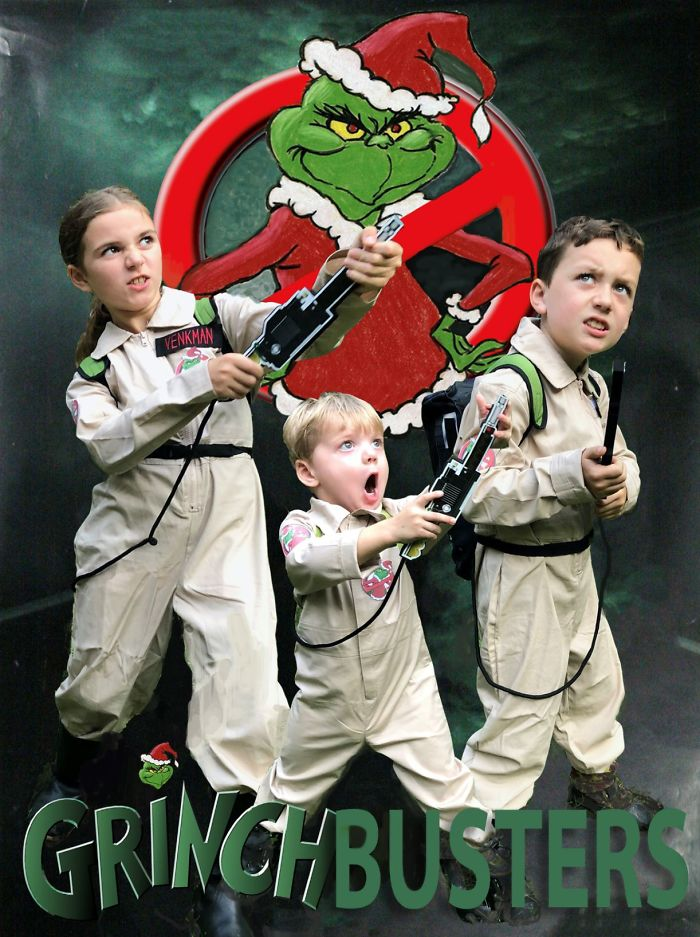 Who You Gonna Call? Grinchbusters!