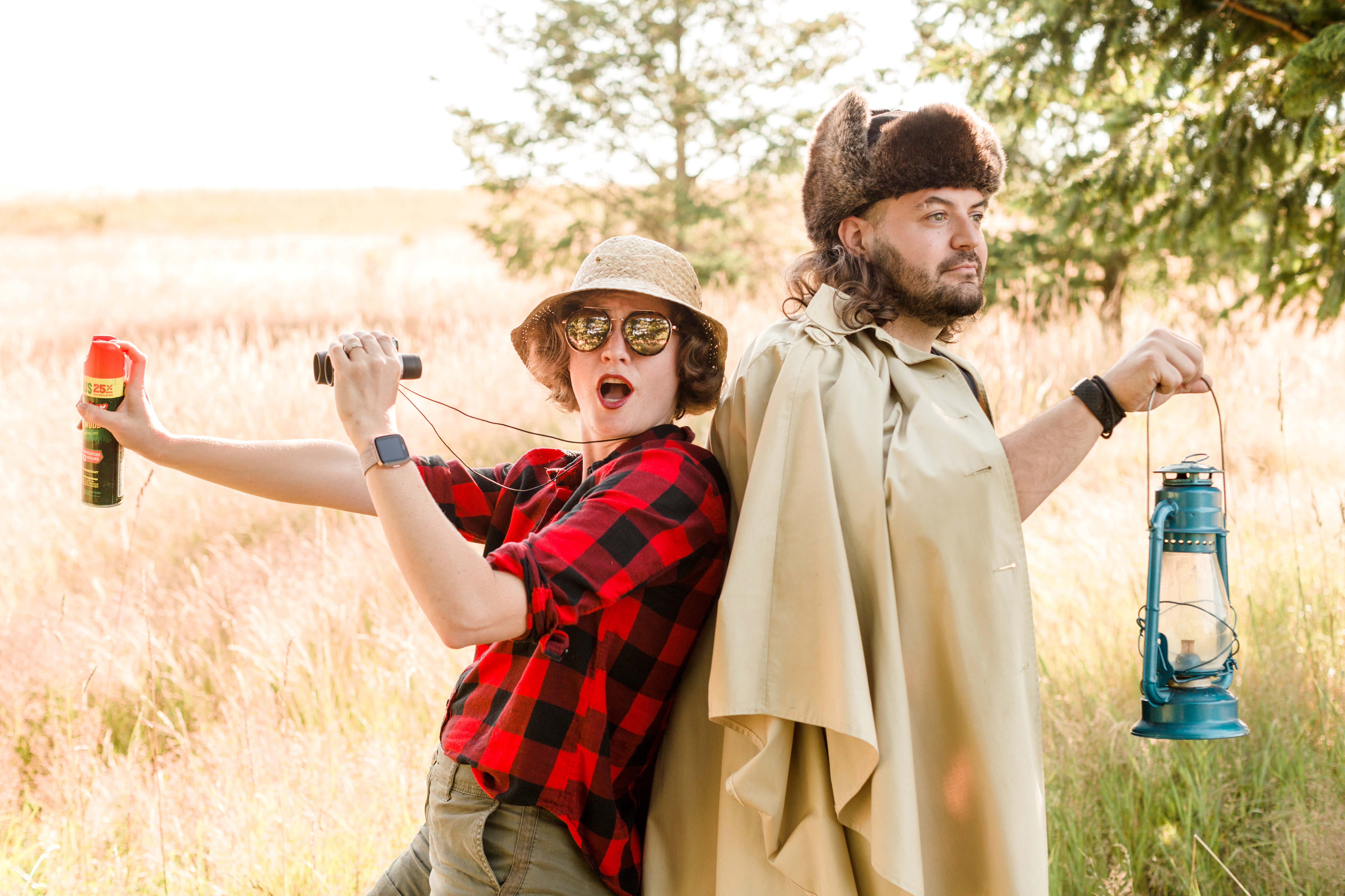 19 Hilarious Engagement Photos Chronicling A Day In The Lives Of This Oregonian Couple