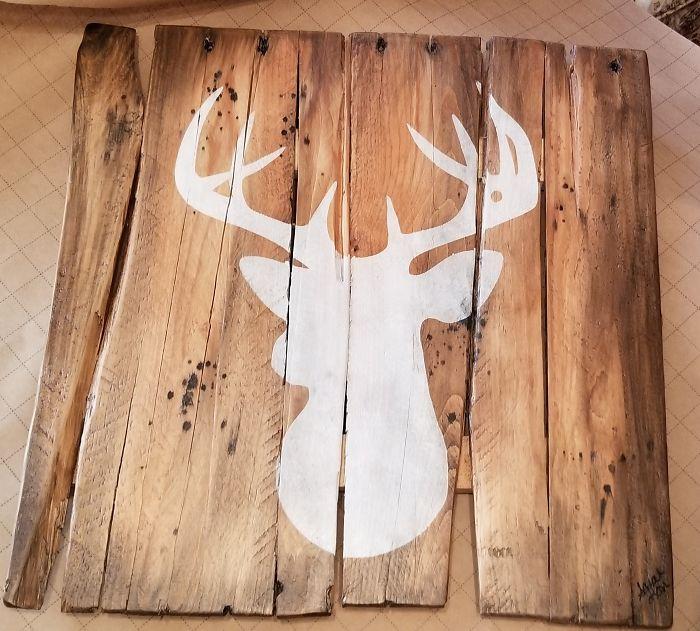Making Rustic Wood Signs Saves My Sanity