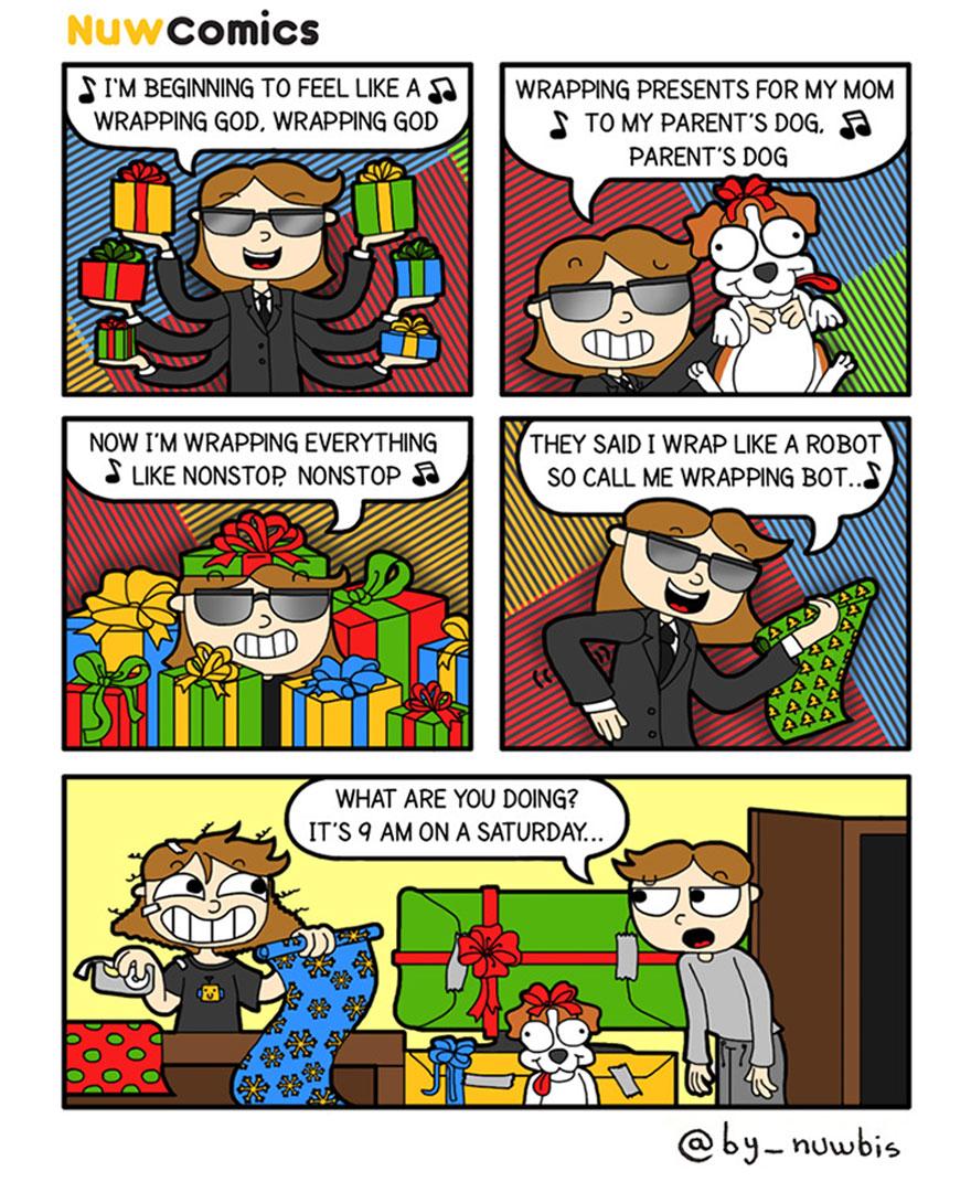 Christmas Wrapping God