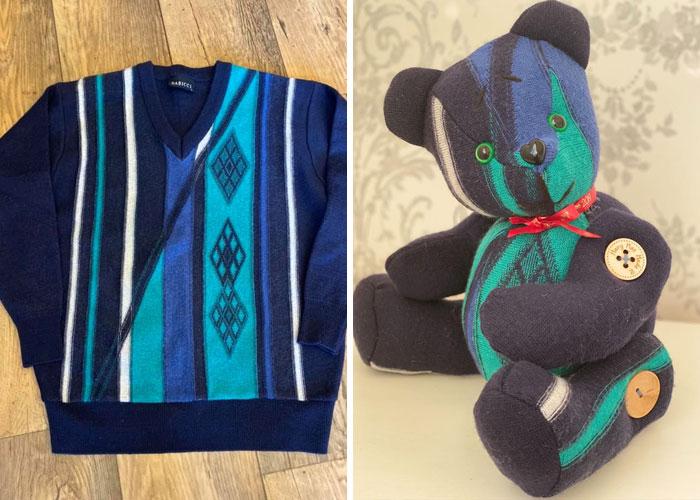 Memory-Bears-Made-From-Clothing-Mary-Mac