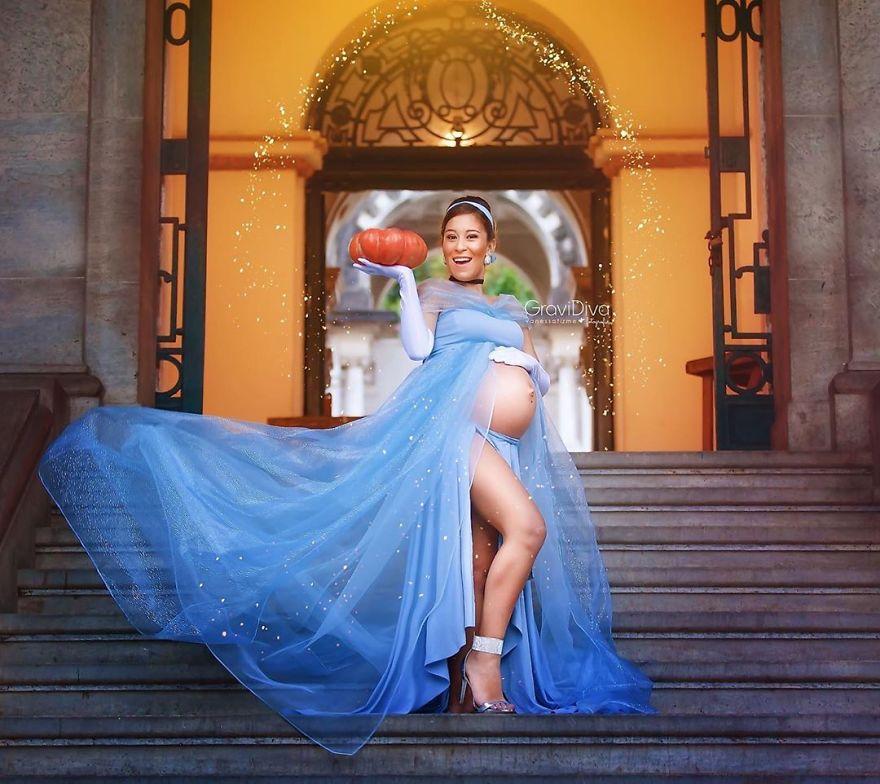 vanessa firme gravidiva photography best pregnant woman disney princess