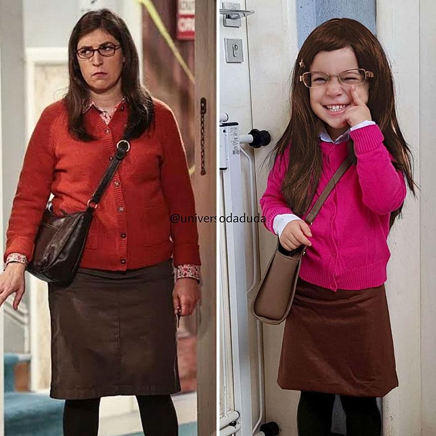 "Amy Farrah Fowler From ""Big Bang Theory"""