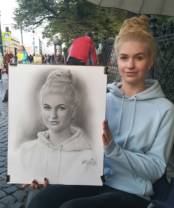 This Russian Artist Made The Streets Of Saint Petersburg His Open-Air Gallery