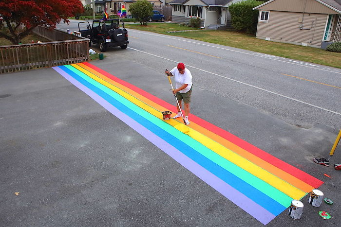 The City Council In A Canadian Town Voted Down A Rainbow