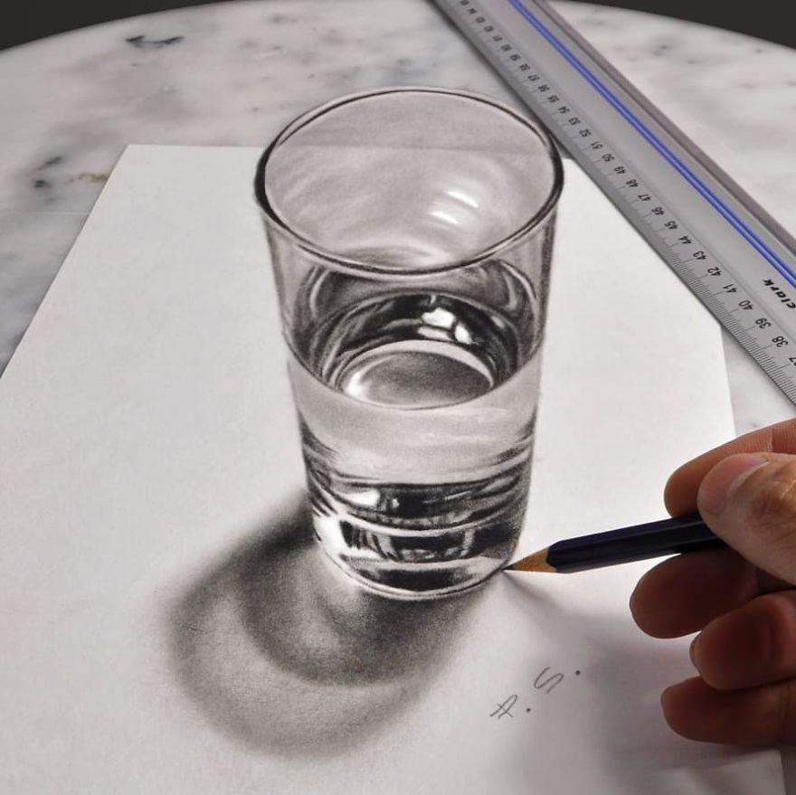 Meet Stefan Pabst's Incredibly Realistic 3D Drawings