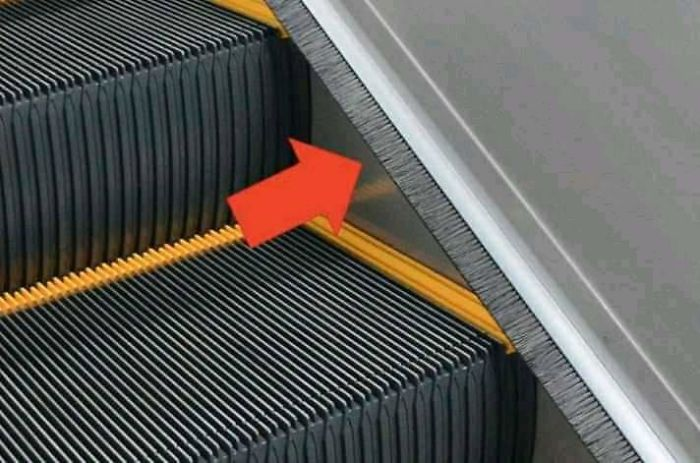 What Is This Thing That You Always See On An Escalator?
