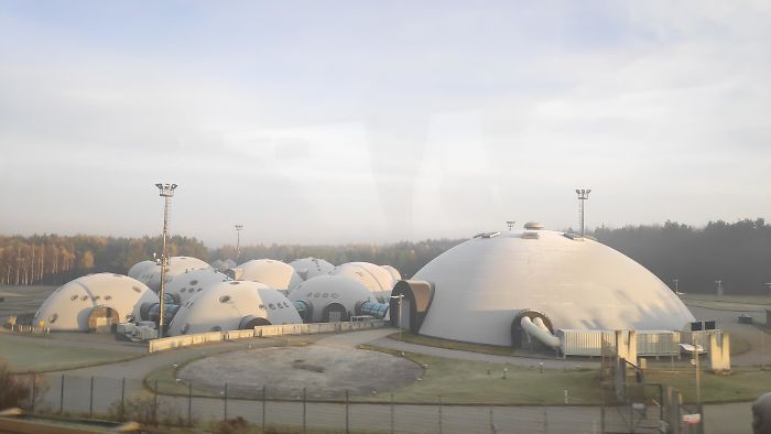 This Sci-Fi Looking Place In Poland, Somewhere By Krakow. What Is This Thing?