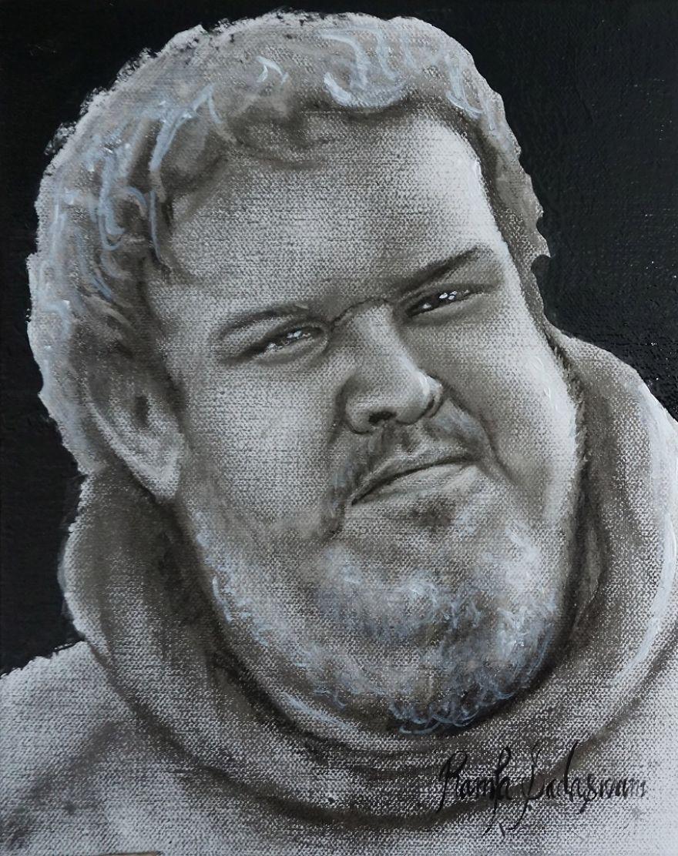 Hodor (Dry Brush Oil Painting)