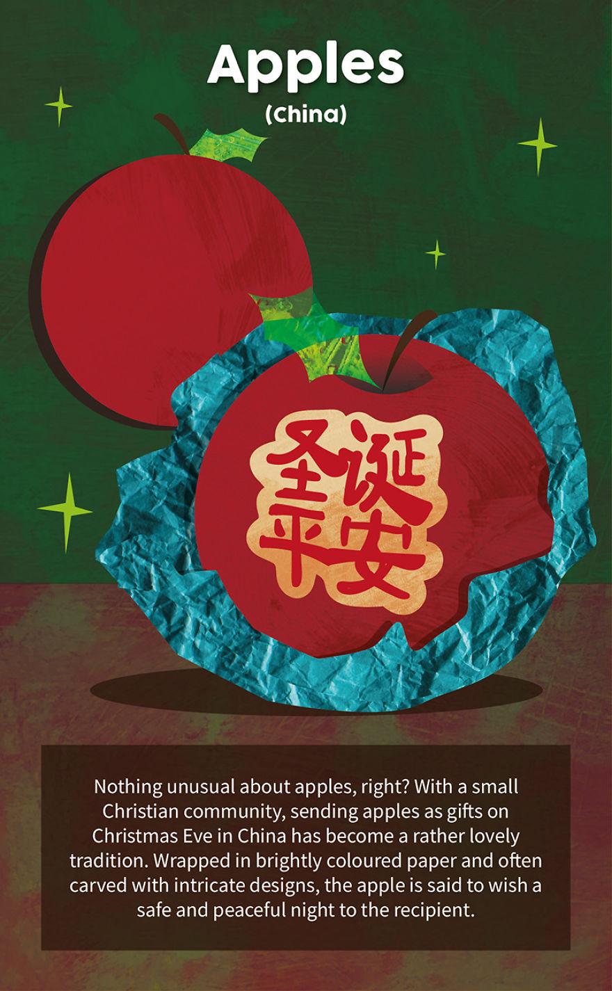 Christmas Eve Apples - China