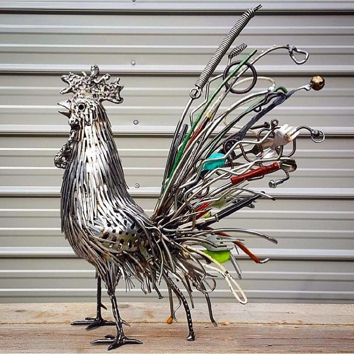 This Artist Makes Art Out Of Things That Seemingly Would Do No Good Anymore