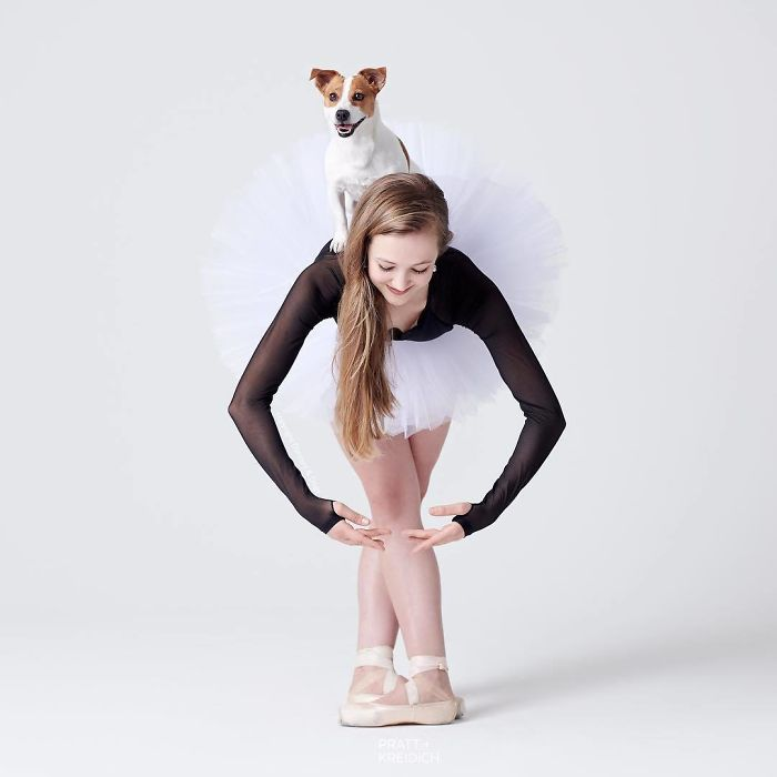 Dancers & Dogs Playfully Share The Spotlight In A New Photography Book