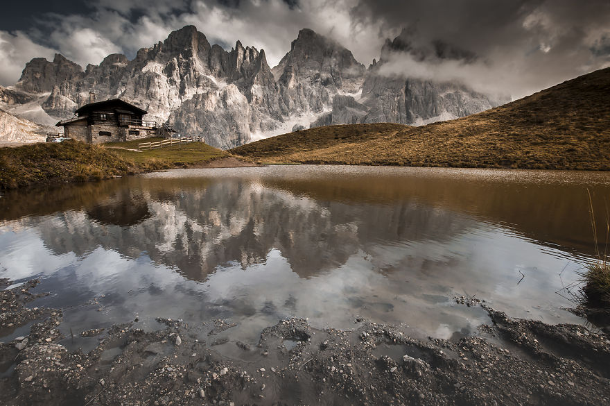 Baita G. Segantini, Dolomites, Italy