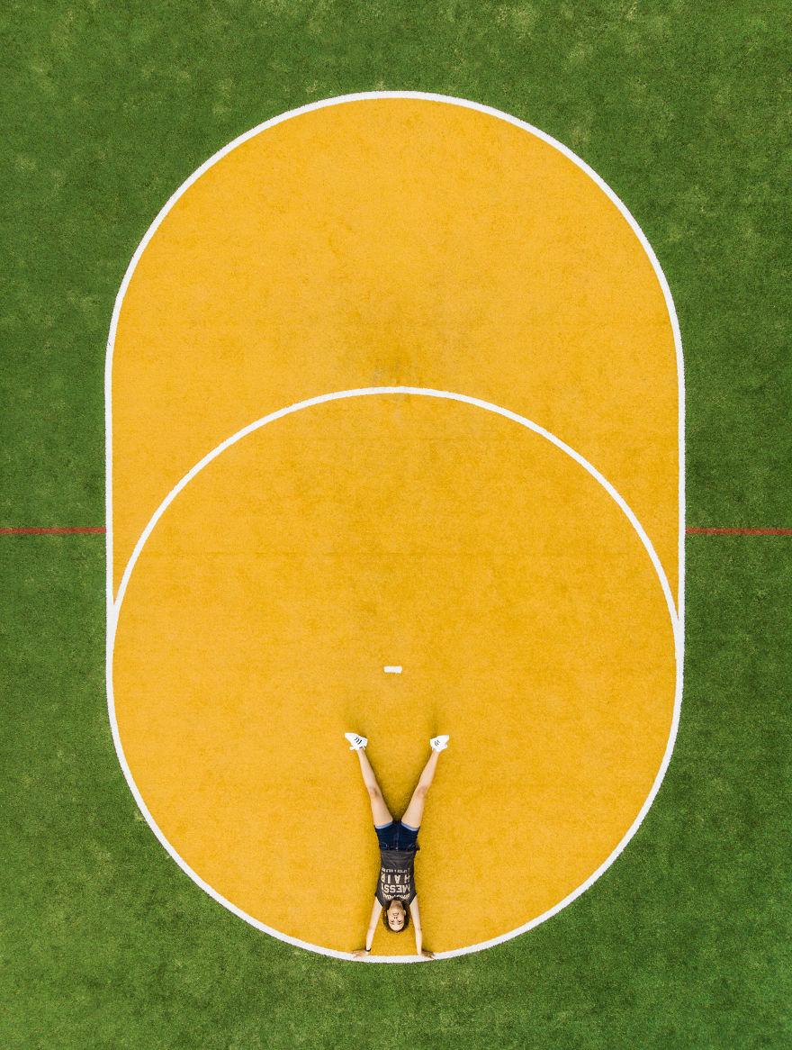 Korfball Field Selfie