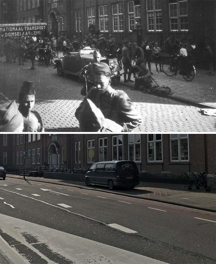 Alkmaar Mobilization Dutch Soldiers