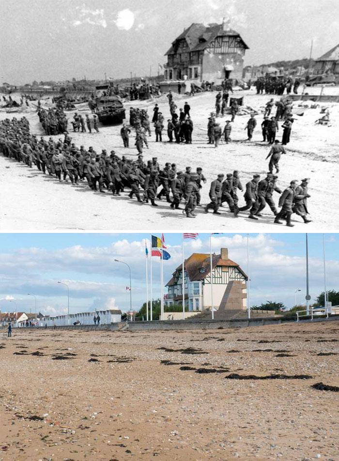 Captured German Soldiers At Juno Beach