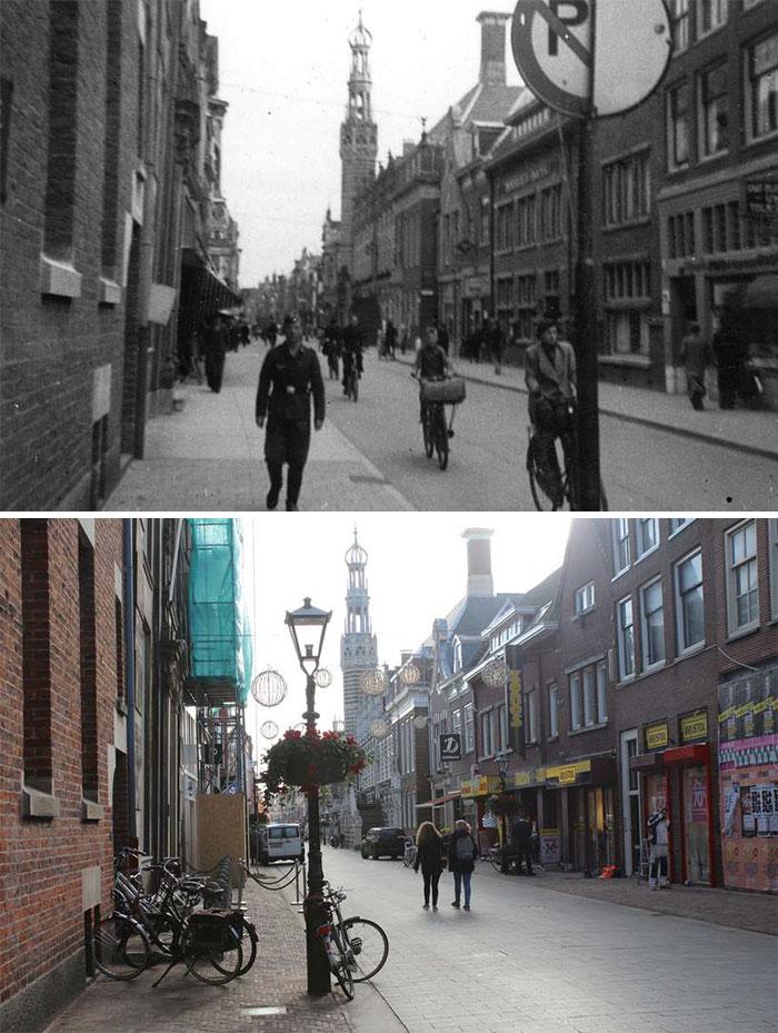 German Soldier In Alkmaar