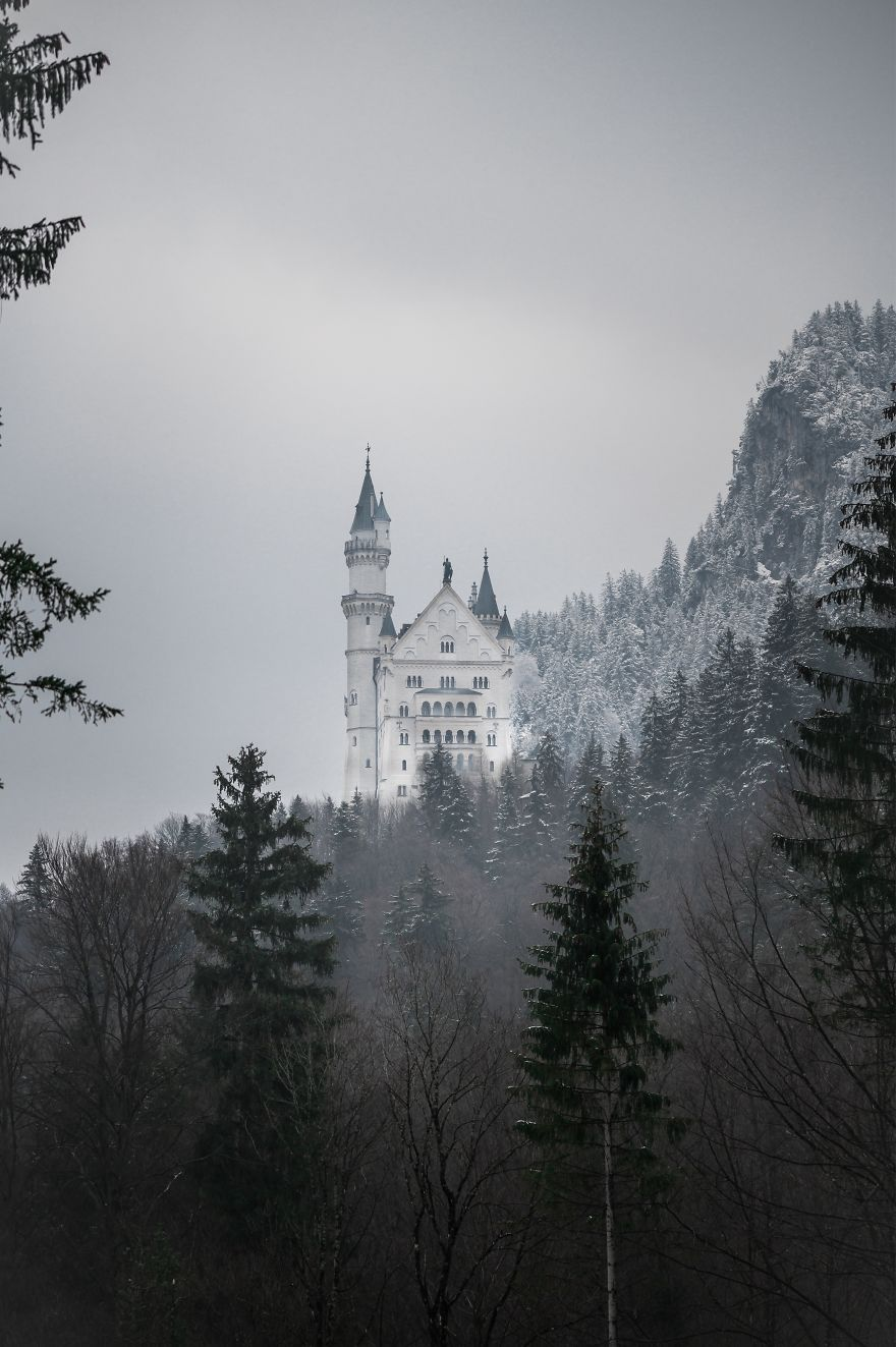 First Snow On The Castle