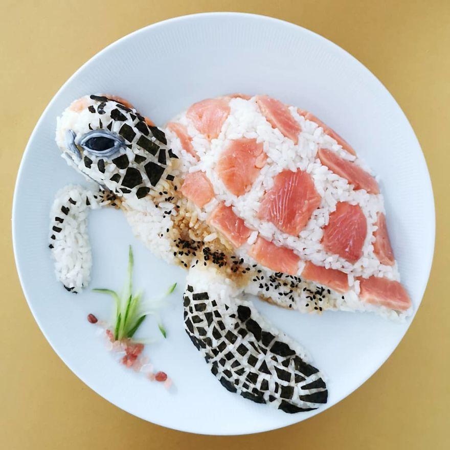 Sashimi Turtle