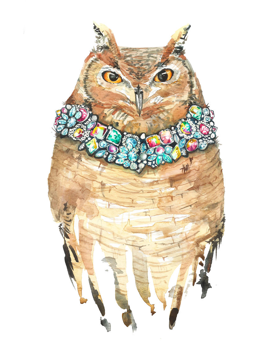 I Can't Stop Painting Owls (27 New Pics)