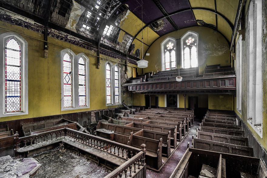 Welsh Church In An Advanced State Of Decay