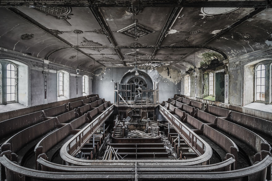 Welsh Chapel In Heavy Decay