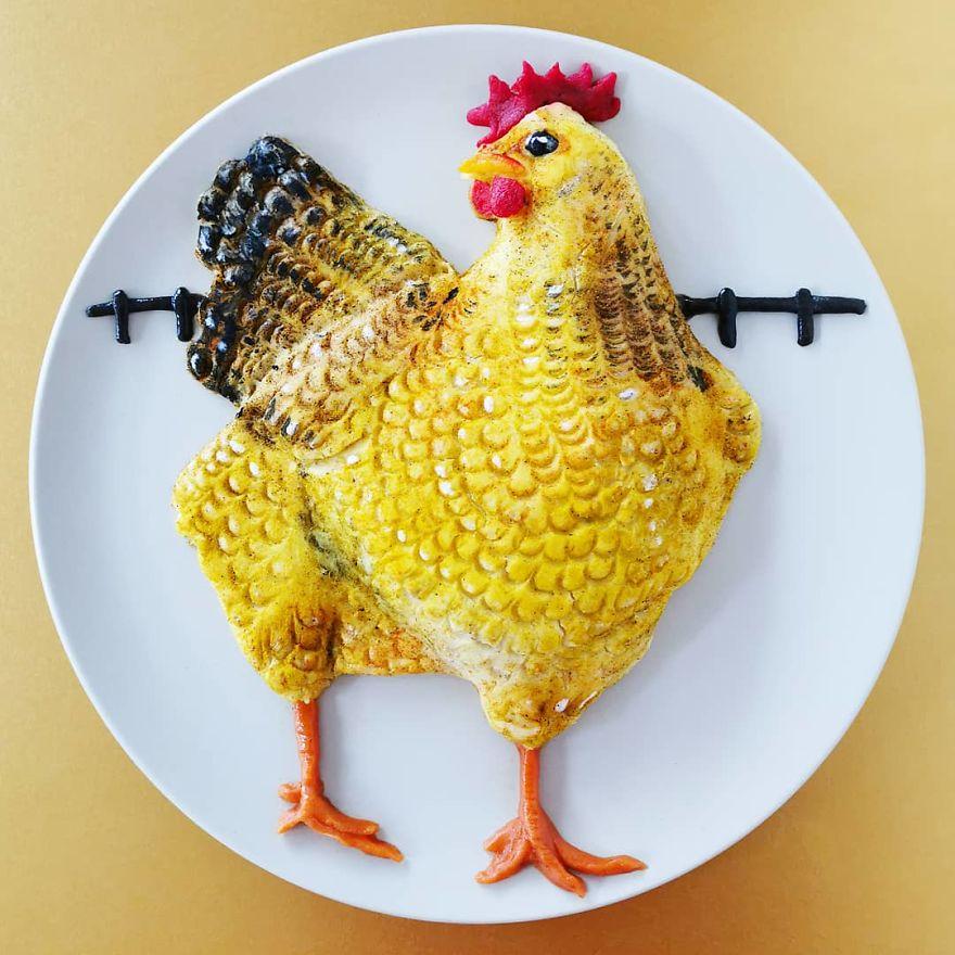De Meal Pepper - Food Art
