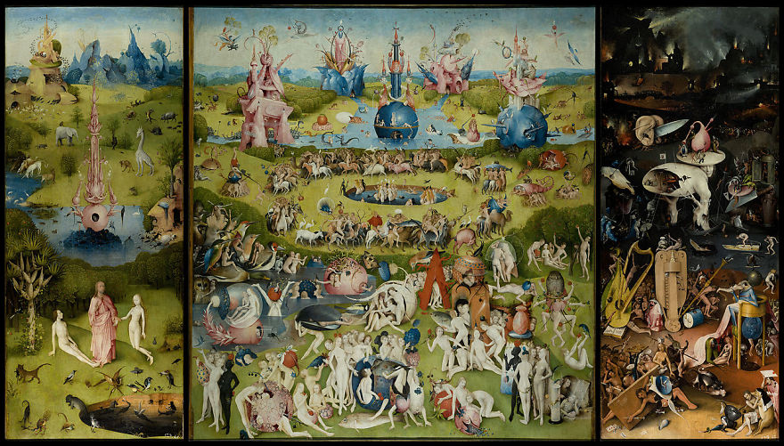 The Garden Of Earthly Delights, Hieronymus Bosch, 1490-1510