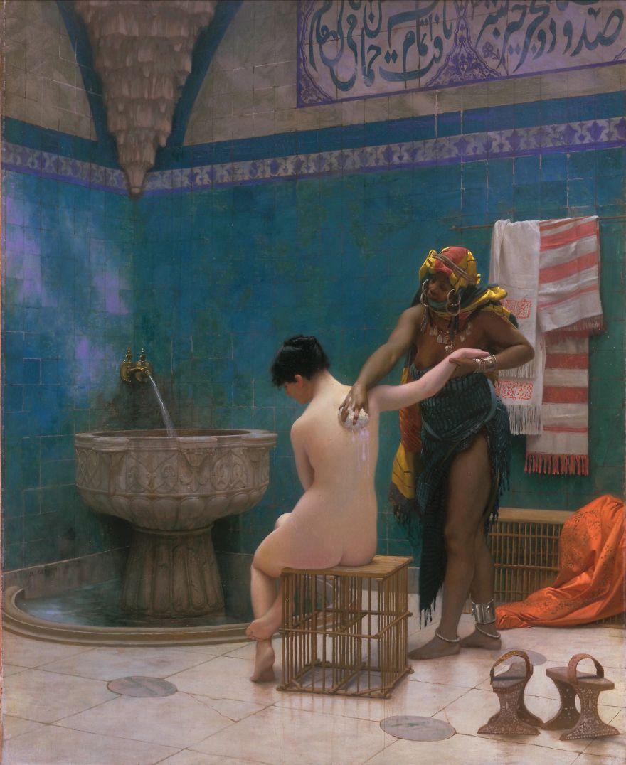 The Bath, Jean-Léon Gérôme, 1885