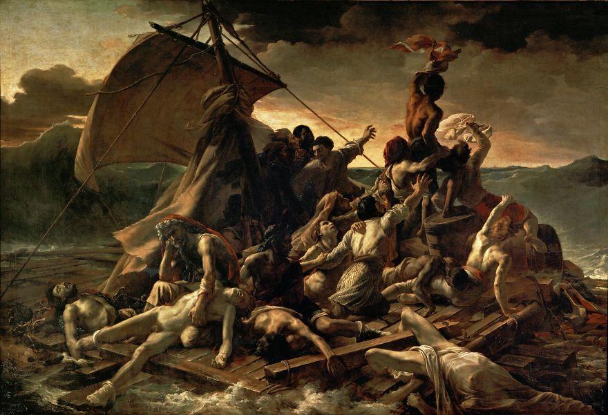 The Raft Of Medusa, Théodore Géricault, 1819