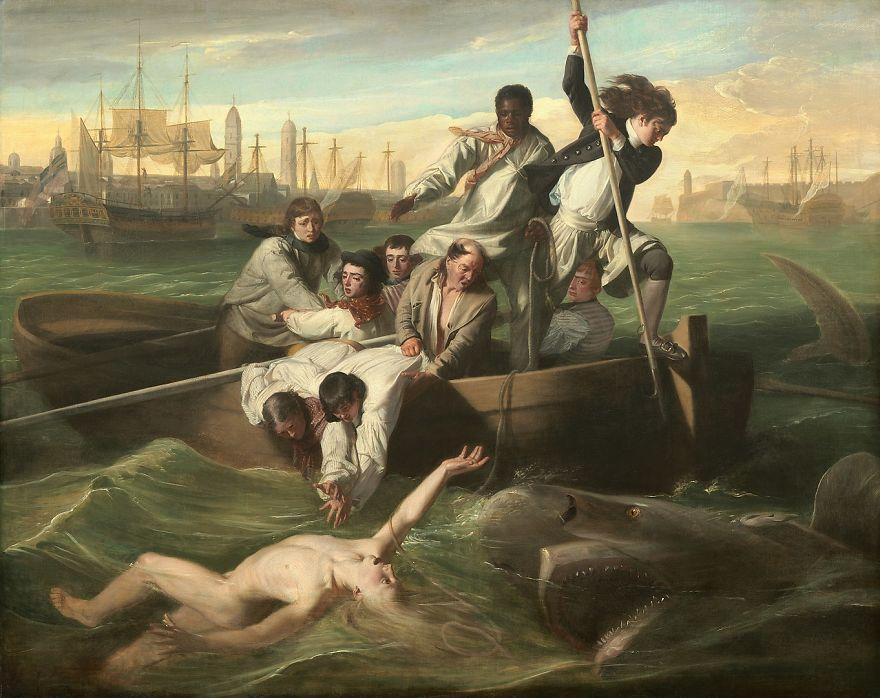 Watson And The Shark, John Singleton Copley, 1778