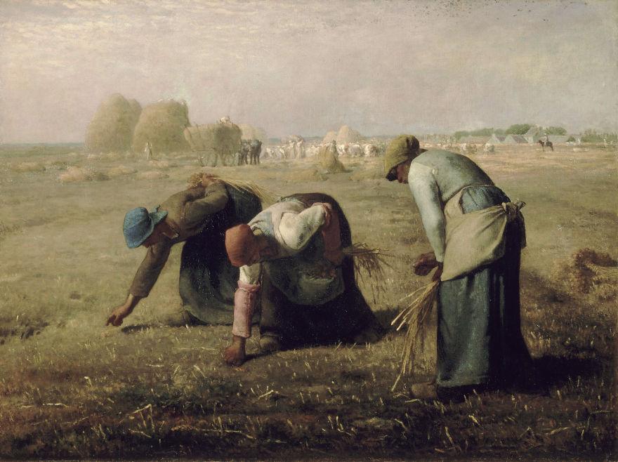 Des Glaneuses, Jean-François Millet, 1857