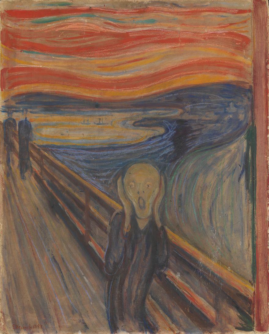 The Scream, Edvard Munch, 1893