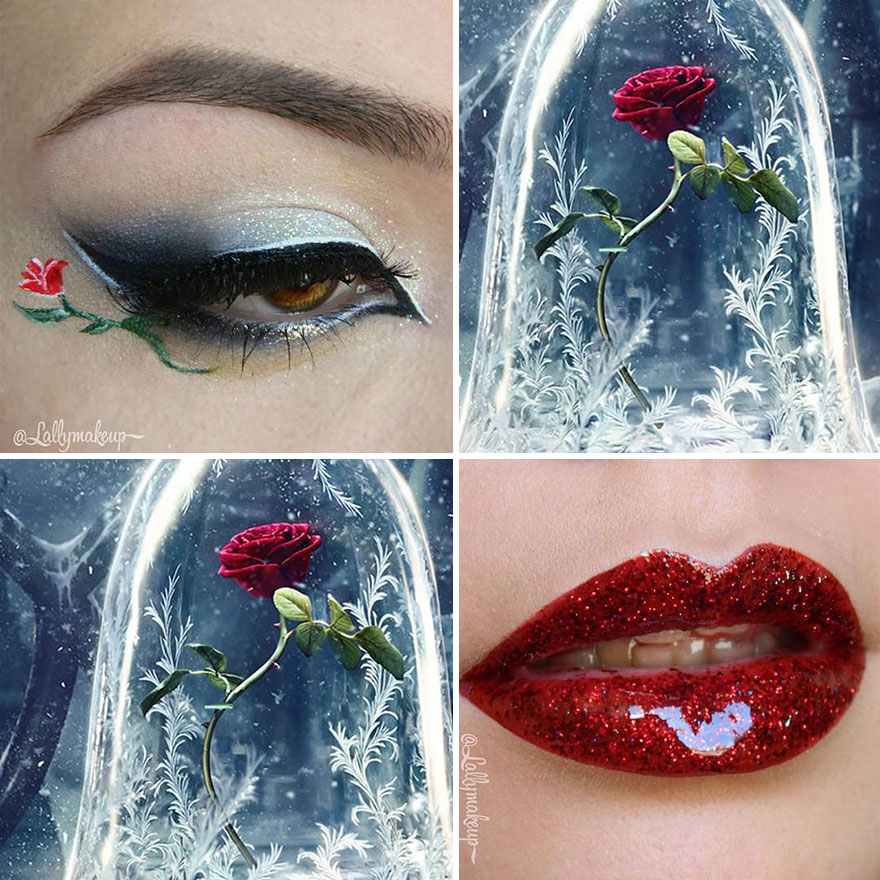 The Enchanted Rose (Beauty And The Beast)