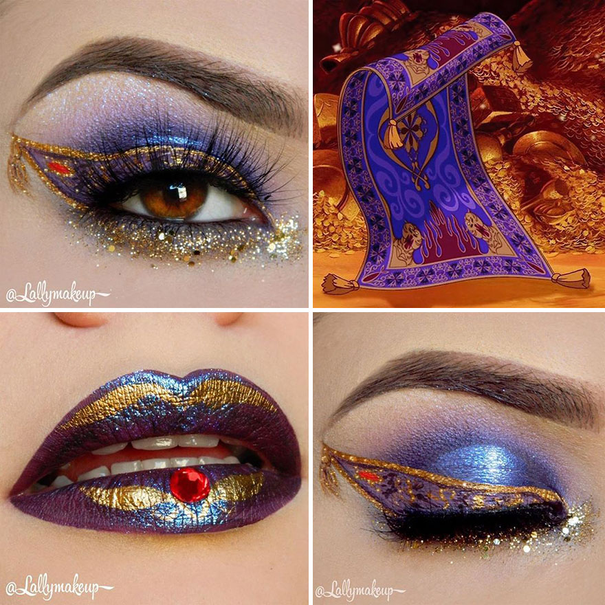 32 Disney Inspired Makeup Looks By This Amazing Artist Bored Panda