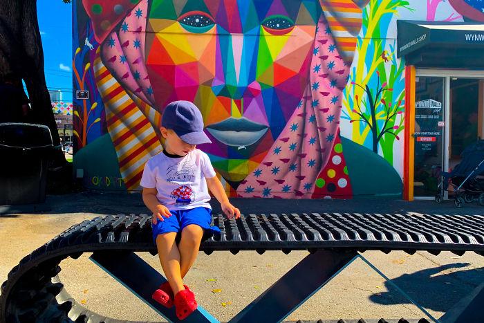 Wynwood Walls In Miami, USA