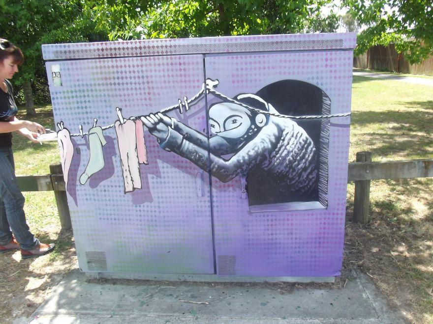 Artist Bruce Greig
