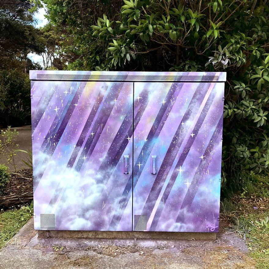 """Cosmic Shower"" By Meghan Jackson"
