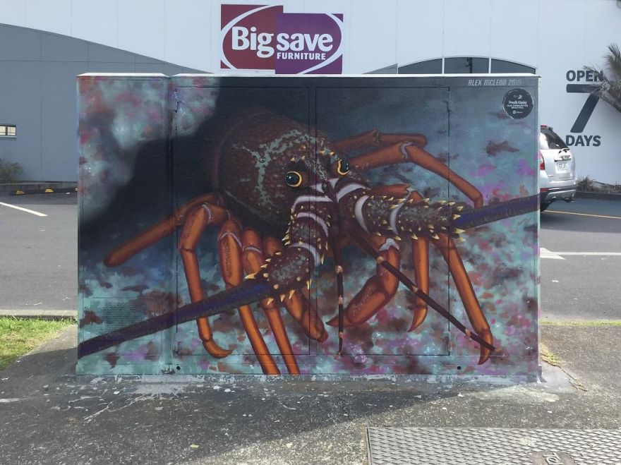 Crayfish By Alex McLeod